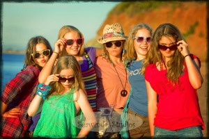 What better place to have fun than the beach!  The golden days of summer & friendship together, perfect recipe for fun!